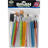 Royal & Langnickel- Brochas artesanía, Pack económico, 25 Piezas (Royal Brush RART-17)
