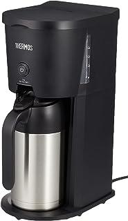 サーモス 真空断熱ポットコーヒーメーカー 0.63L ブラック ECJ-700 BK