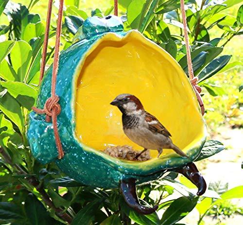 Keramunzel Vogelhaus - Kugelfisch oder Schale für Allerlei - Keramik zum Schmunzeln frech und wunderschön Manufaktur bien-Art