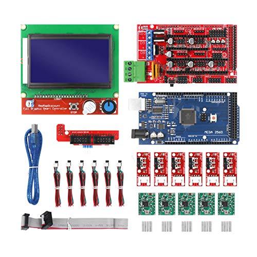 joyMerit RAMPS 1.4 Controller + Mega2560 CH340 Board+RAMPS LCD 12864 +Endstop Mechanical