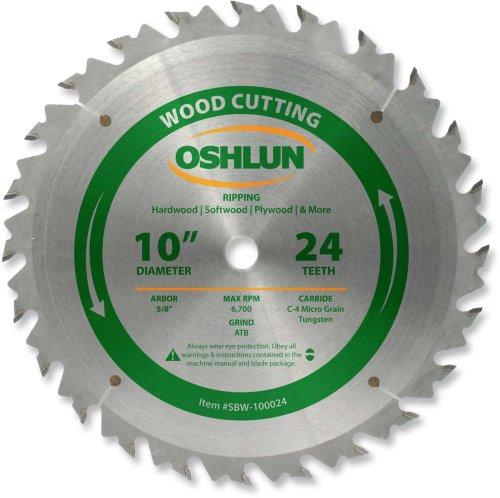 "Oshlun 10"" x 24T ATB"