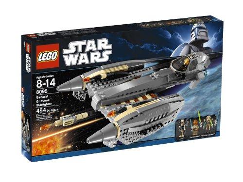 LEGO Star Wars General Grievous Starfighter Baukasten–-Spiele BAU (Mehrfarbig, 8Jahr (S), Film, 14Jahr (S))