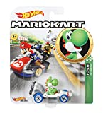 Hot Wheels GBG29 - Mario Kart Replica 1:64 Die-Cast Yoshi -