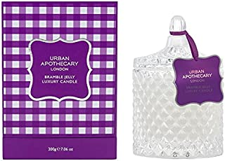 Urban Apothecary Bramble Jelly Scented Candle (Pack of 2) - 都市薬屋キイチゴゼリー香りのキャンドル (Urban Apothecary) (x2) [並行輸入品]