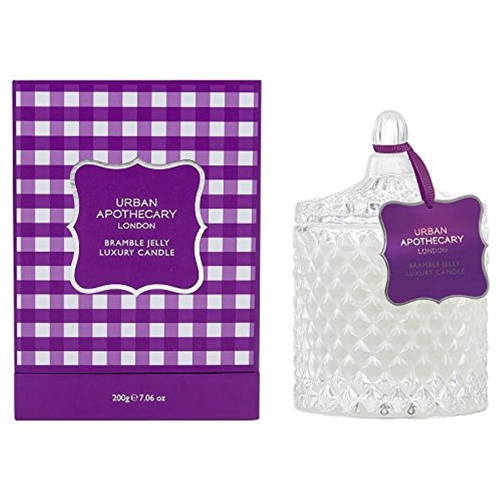 切断する熱帯のファンブルUrban Apothecary Bramble Jelly Scented Candle (Pack of 2) - 都市薬屋キイチゴゼリー香りのキャンドル (Urban Apothecary) (x2) [並行輸入品]