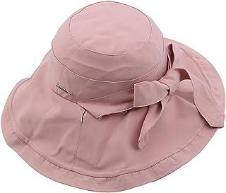 Yinew Cappello da pescatore largo lato protezione solare pieghevole bacino Cap pieghevole moda accessori per le donne, Cot...