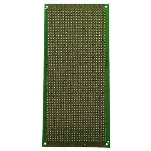 SODIAL (R) Universale Breadboard platino piatto PCB Scheda di prova prova del circuito DIY 10x22cm