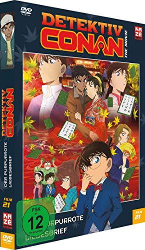 Detektiv Conan: Der purpurrote Liebesbrief - 21.Film - [DVD] - Limited Edition