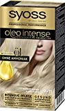 SYOSS Oleo Intense Permanente Öl-Coloration, Haarfarbe 9-11 Kuehles Blond, mit pflegendem Öl &...