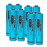 Pilas Recargables AAA Icr10440 3.7V Liion Batería Recargable De Litio 3.7 12Pcs