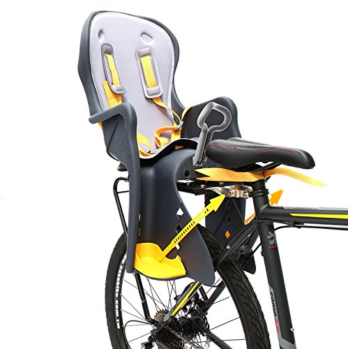 Bicycle Kids Child Children Toddler Rear Mount Baby Carrier Seat Bike Carrier USA Safely Standard with Handrail Racks