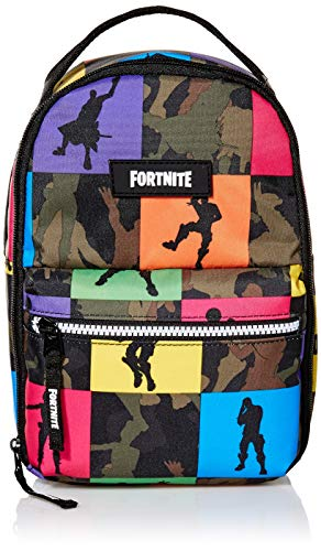 FORTNITE unisex child Multiplier Lunch Kit Kid s Backpack, Camo, One Size US