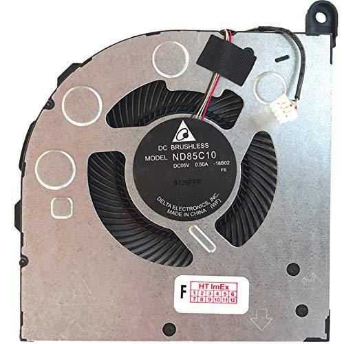 Ventilador de refrigeración para Lenovo Legion Y730-15ICH (i5-8300H), Y730-17ICH, Y730-17ICH (81HG), Y730-17ICH (GTX 1050 Ti)