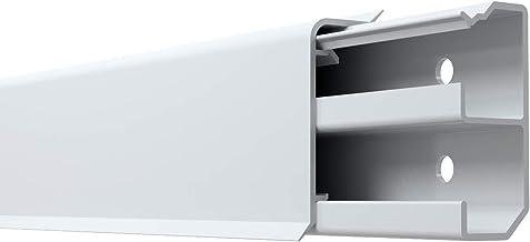 integrierter Kabelkanal Kunststoff Fu/ßleisten PVC Moderne Laminatleiste Sockelleisten und Zubeh/ör 70x50 mm Au/ßenecke AE.0107 riesige Auswahl