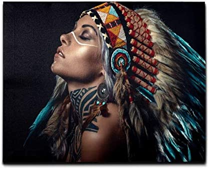 Indian chief art