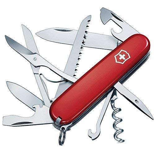 Victorinox Swiss Army Huntsman Pocket Knife (Red)