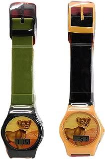 Disney Lion King LCD Digital Watch Wrist Watch Set of 2