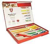 Cuchillos Royalty Line 7 Piezas Multicolor