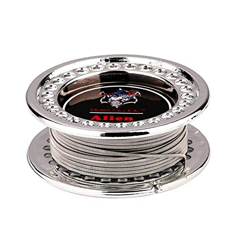 DIY Heating Coil Wire Kanthal A1 Resistance Wire 15 Feet (Alien 0.3x0.8+32GA)