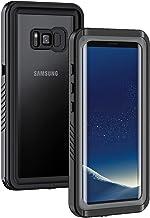 Lanhiem Samsung S8+ Plus Case, IP68 Waterproof Dustproof Shockproof Case with Built-in..