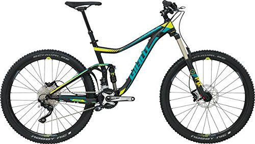 Giant Trance 2 Ltd – 27, 5 Pulgadas Mountain Bike Negro/Verde (2016)