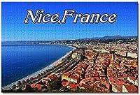 フランス大人のための素敵なジグソーパズル子供子供1000ピース木製パズルゲームギフト用家の装飾特別な旅行のお土産