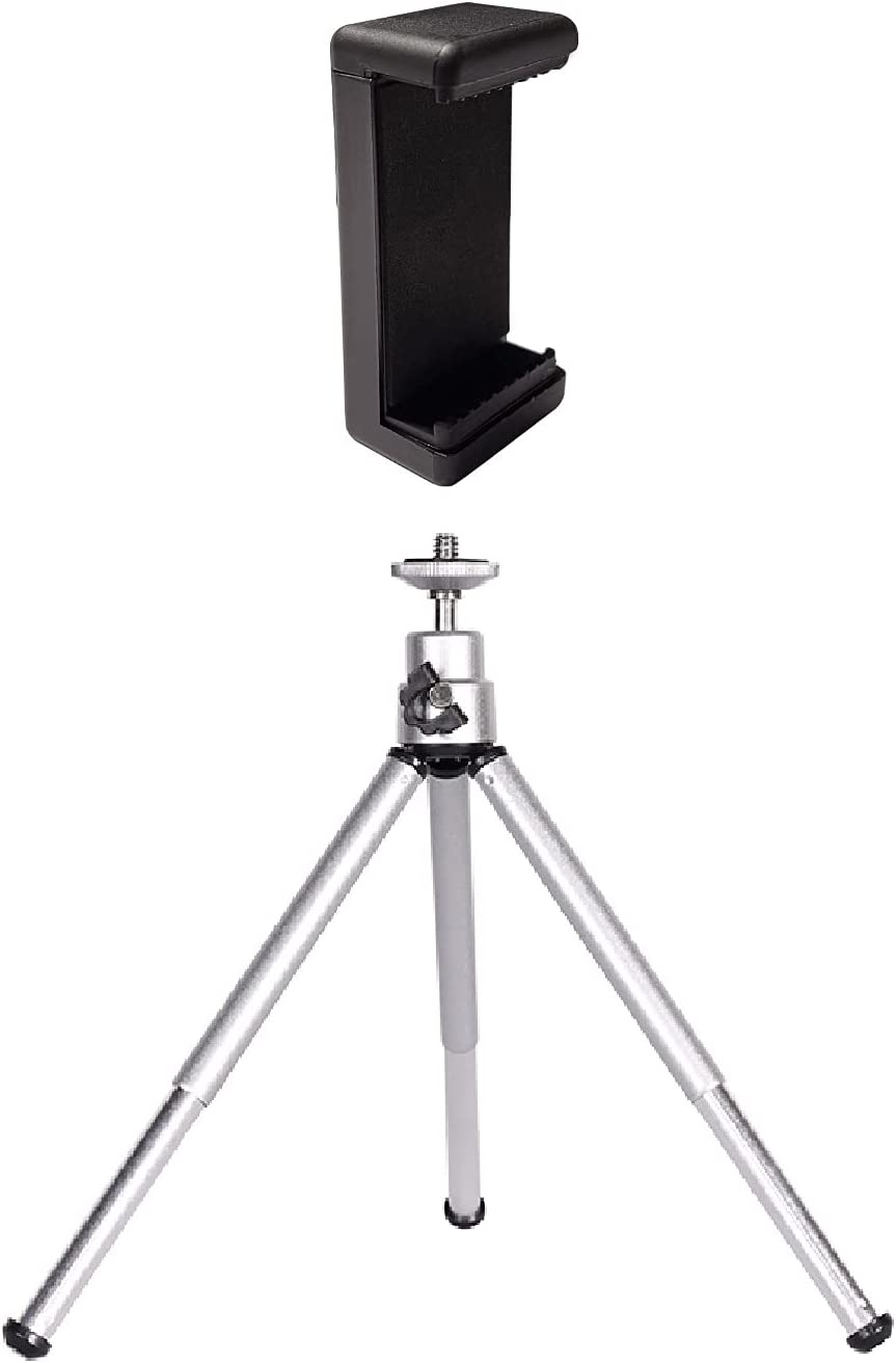 QYXINC Lightweight Mini Tripod with Max 57% OFF Phone Webca Holder Max 82% OFF for