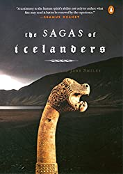 Book cover for The Sagas of Icelanders ~ books set in Iceland