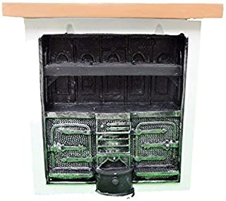 Melody Jane Dollhouse Kitchen Range Cooker Miniature Victorian Furniture 1:12