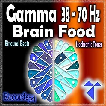 Gamma 38 -70 Hz: Brain Food