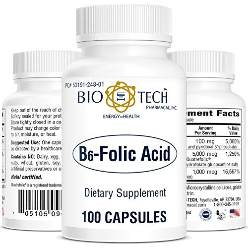 B6-Folic Acid 100 caps