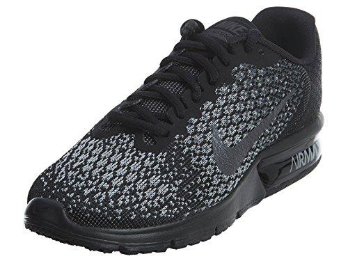 Nike Wmns Air Max Sequent 2, Scarpe Running Donna, Multicolore Black Mtlc Hematite Dark Grey Wolf Grey 010, 37.5 EU