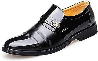 [ドウダイ] ビジネスシューズ メンズ 紳士靴 シークレットインソール 2タイプ有り 革靴 防滑 軽量 通勤 通気性 防水 衝撃吸収 防臭 フォーマル 営業マン