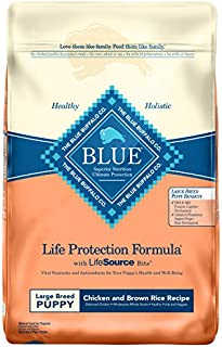 Blue Buffalo Life Protection Formula Natural Puppy Large Breed Dry Dog Food, Chicken and Brown Rice 15-lb
