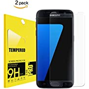 [2PACK] for Galaxy S7 Screen Protector Tempered Glass,Acoverbest[Bubble Free][Anti-Scratch][9H Hardness] for Samsung S7 Tempered Glass Screen Protector(Aco-A2