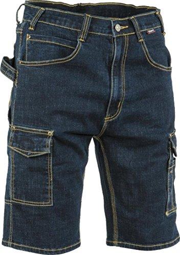 COFRA Arbeitsshort Worker Jeans MANACOR (52, blau)