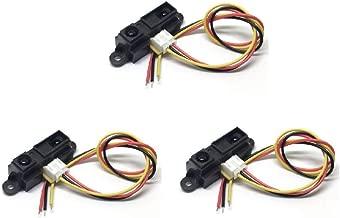 Bolsen 3pcs GP2Y0A21YK0F GP2Y0A21 10~80cm Infrared Proximity Distance Sensor