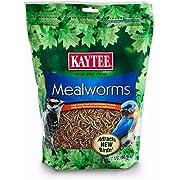 Kaytee 100505655 Mealworms, 17.6 oz, 17.6 Ounce