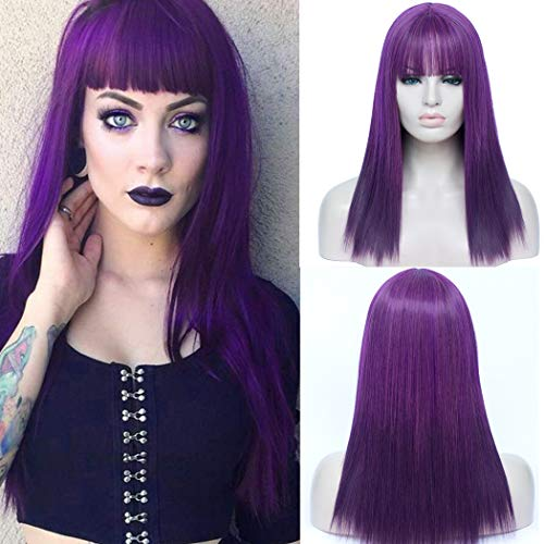 comprar pelucas violetas on-line