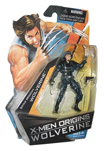 Hasbro - X-Men Origins Wolverine - 84340/78705 - Série comique - Figurine de collection 3 3/4 Inch / 10cm - Mission de grève WOLVERINE