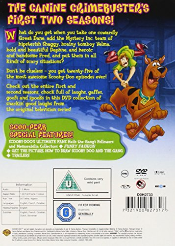 Scooby-Doo: Where Are You! The Complete Seasons 1-2 [DVD] [2005]