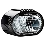 SUPER NOVA Unisex– Erwachsene M99 Pure Fahrradlicht, schwarz, 500 Lumen