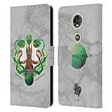 Officiel Harry Potter Herbology Deathly Hallows IV Coque en Cuir à Portefeuille Compatible avec...