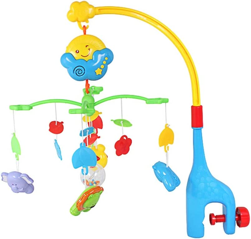 Lihgfw In stock Baby Bed Bell Toy Rattle Bedside Rotating Music Dallas Mall