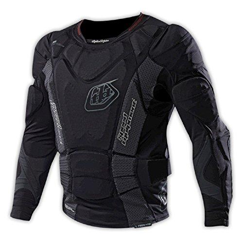 Troy Lee heißem Wetter - Jugend Langarm Shirt UPL 7855 (2015), Schwarz schwarz schwarz X-Large