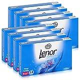 Lenor Aprilfrisch Toallitas de secado, 34 toallitas, cuidado de la ropa en la secadora, 8 unidades