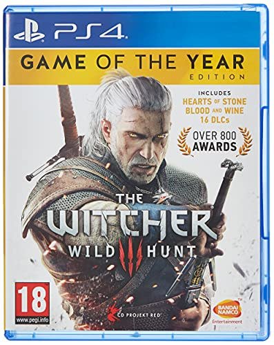 Bandai Namco Entertainment The Witcher 3 Game Of The Year Edition (PS4)
