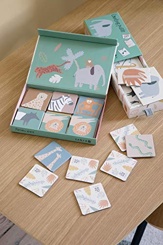 sebra - interior for kids Puzzle mit Zahlen, 1-10, Wildlife