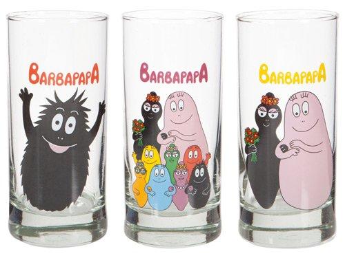 United Labels 109492–Set di Bicchieri di Barbapapà, 3er