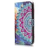 ISAKEN Compatibile con Samsung Galaxy J5 2017 Cover - Libro Wallet Flip Portafoglio Custodia in...